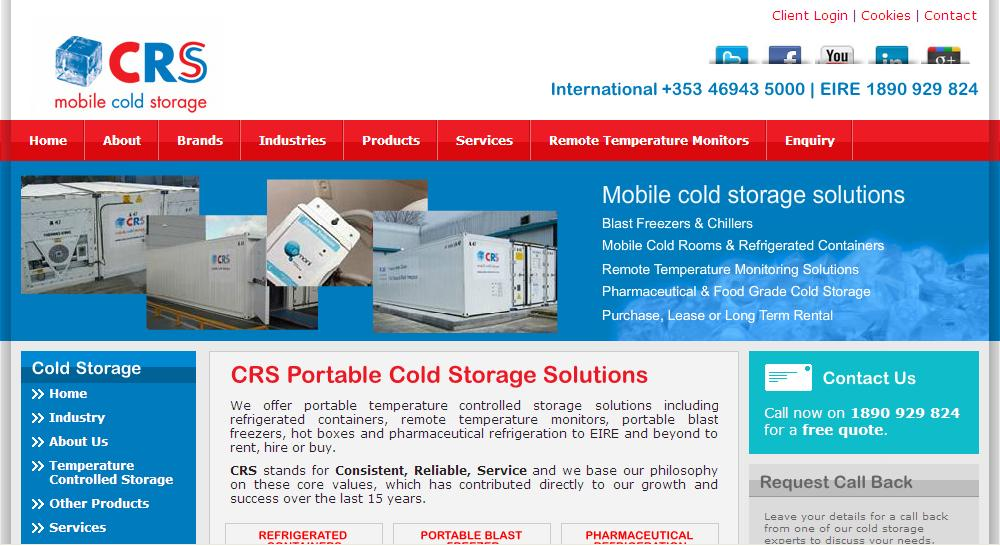 crs.ie Website